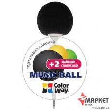 Акустична система Music Ball CW-005B ColorWay