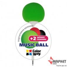 Акустична система Music Ball CW-005G ColorWay