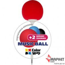 Акустична система Music Ball CW-005R ColorWay