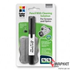 Олівець, рідина для чистки оптики CW-6212 ColorWay
