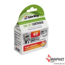 Картридж струменевий сумісний з Canon PG-40 CW-CPG40 СolorWay