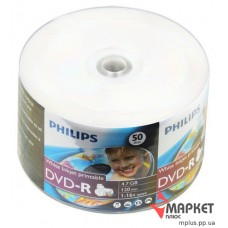 DVD-R Philips 16x bulk(50) Printable