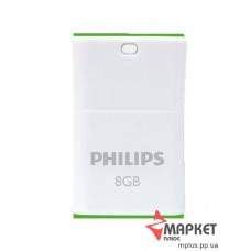 USB Флешка Philips Pico 8 Gb Green