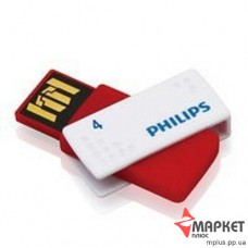 USB Флешка Philips SATO 4 Gb Red