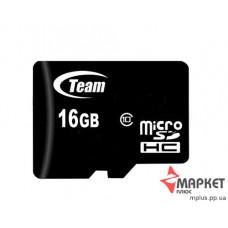 Карта пам'яті Team MicroSDHC 16 Gb C10