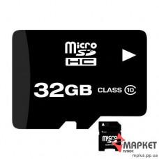 Карта пам'яті Team MicroSDHC 32 Gb C10 + SD