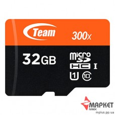 Карта пам'яті Team Micro SDHC 32 Gb C10 + SD UHS-1