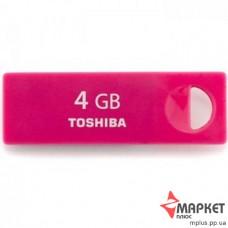 USB Флешка Toshiba Enshu Rosered 4 Gb