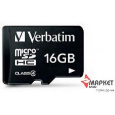 Карта пам'яті Verbatim MicroSDHC 16 Gb C4