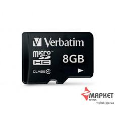 Карта пам'яті Verbatim MicroSDHC 8 Gb C4