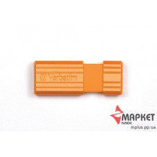 USB Флешка Verbatim StoreNGo 8 Gb Pin Stripe Orange