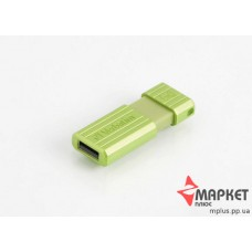 USB Флешка Verbatim StoreNGo 8 Gb Pin Stripe Green