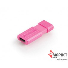 USB Флешка Verbatim StoreNGo 8 Gb Pin Stripe Pink