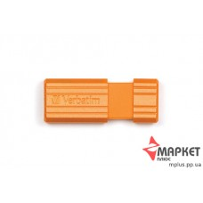 USB Флешка Verbatim StoreNGo 16 Gb Pin Stripe Orange