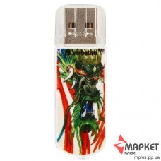 USB Флешка Verbatim StoreNGo 16 Gb Mini Tattoo Dragon