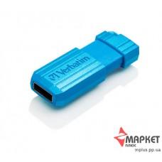 USB Флешка Verbatim StoreNGo 8 Gb Pin Stripe Blue