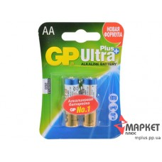Батарейка 15AUP Ultra Plus Alkaline C2 GP