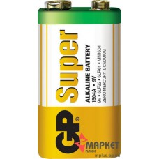 Батарейка 1604A Super Alkaline S1 GP