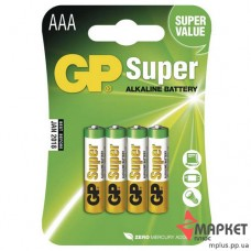 Батарейка 24А Super Alkaline C4 GP