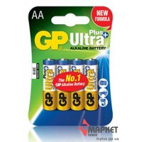 Батарейка 15AUP Ultra Plus alkaline C4 GP