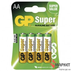 Батарейка 15А Super Alkaline C4 GP