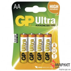 Батарейка 15AU Ultra Alkaline C4 GP