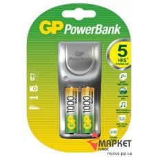 Зарядний пристрій PB25 + 2 Акумулятори 1000 GP