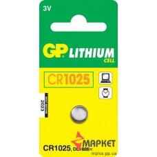 Батарейка CR1025 GP