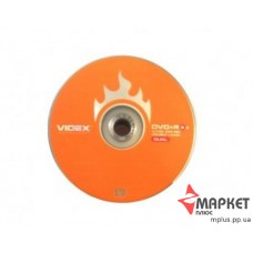 DVD+R Videx 8.5 Gb 8x bulk(50)